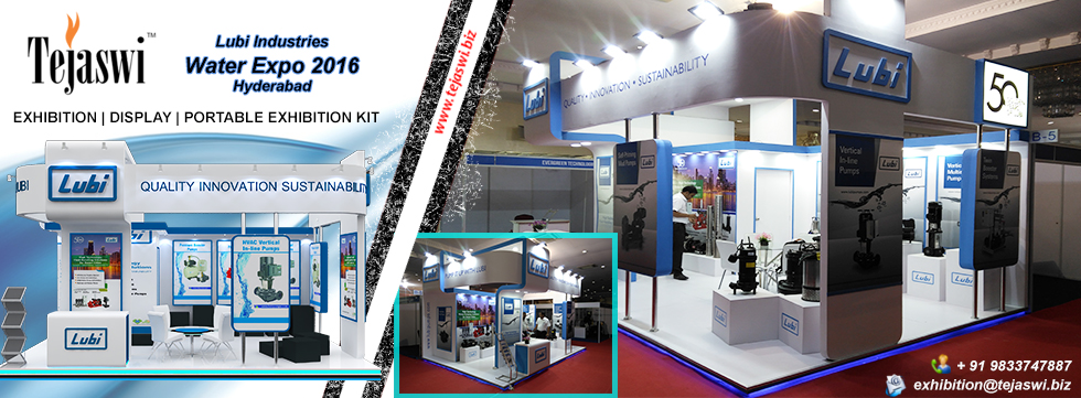 Exhibition Stall Designer Hyderabad Water Expo